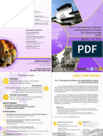 Brochure ISCH Universitas Pasundan Bandung
