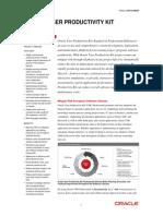 Oracle UPK Data Sheet