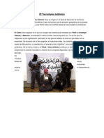 El Terrorismo Islámico El Terrorismo Islámico