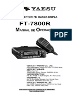 Manual do Yaesu FT-7800r