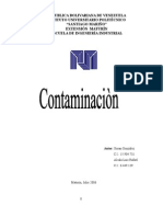 Contaminacioparque, paisaje n Org