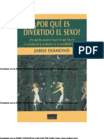 Diamond Jared-Por Que Es Divertido El Sexo