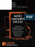 Imago Mortis - El Componente Italico en El Mundo Funerario de Barcino y Tarraco