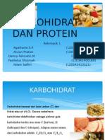 Karbohidrat Dan Protein