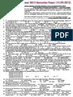 IBPS-2013 MODEL PAPER