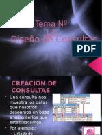 Tema 13 Diseño de Consultas Avanzadas