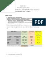 Bioethanol Dan Biodiesel