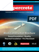Supercrete Block Systems Brochure