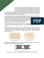 Castillos, Columnas, Cadenas y Trabes