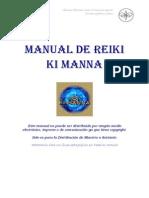 Manual Reiki Ki Manna