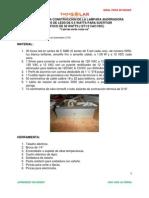 Manual Construccion de La Lampara Ahorradora de Focos de Leds de 6.5 Watts