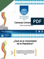 Carreras Universitarias - Cualquier Bachillerato - Diapos Set. 2012