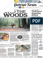 Front page, hunting season - The Patriot-News - Dec. 2, 2014