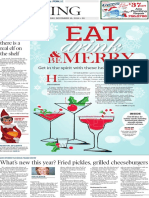 Tuesday Living, Holiday cocktails - The Patriot-News - Dec. 16, 2014