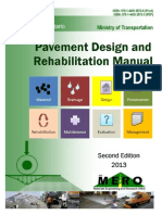 Pavement Design and Rehabilitation Manual