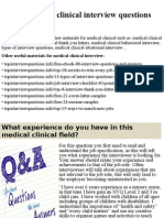 Top 10 medical clinical interview questions and answers.pptx