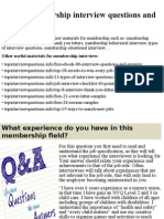 Top 10 membership interview questions and answers.pptx