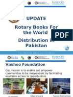 Update Rotary Books for the World Distribution in Pakistan_2015