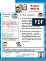 week 22 newsletter