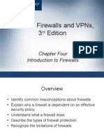 Ch04 Introduction to Firewalls
