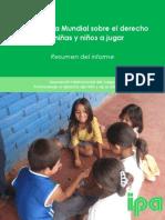 IPA Consulta Mundial Sobre El Derecho de Niñas y Niños a Jugar
