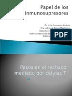 Papel de Los Inmunosupresores