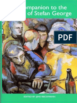 A Companion To The Works Of Stefan George Poetry Fiction