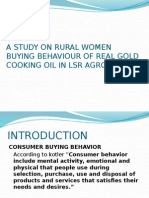 ppt rural women buying behaviour