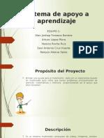 Sistema de Apoyo a Aprendizaje
