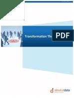 Transformation Through Analytics