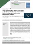 Short- And Long-term Results Hemmoroid