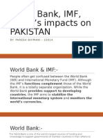 World Bank, IMF, And It's Impacts
