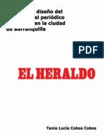Estudio del diseño del sitio web del periódico El Heraldo en la ciudad de Barranquilla