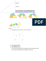 Dissecting Quadrilaterals Using Geogebra