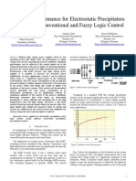 Enhanced Performance for Electrostatic Precipitators Fuzyy Logic Control