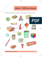 Many Objects  Different shapes