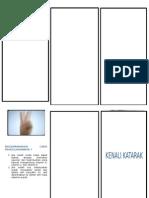 Katarak Leaflet