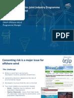 Offshore Renewables Joint Industry Programme ORJIP Offshore Wind