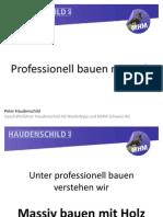 04 Haudenschild Professionell Bauen Mit Holz Vortrag