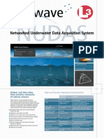 Fastwave L-3 Networked Underwater Data Acquisition System Flyer
