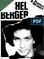 Michel Berger - Album Partitions
