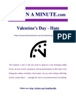 Valentines Day Hate
