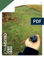 Crushpad 2008 Vineyard List
