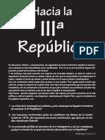 Hacia La IIIª República