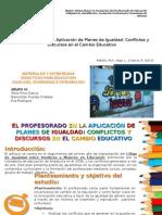 Materiales y estrategias didácticas para la educación en igualdad