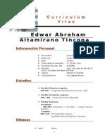 CV Alberto Carpio