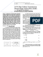 IISRT-4-Study on 20 and 50 Gbps Soliton Transmission in Conventional Single Mode Fiber