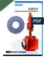 Boiler Feed Pump Recirculation Valves