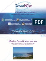 Marine Data And Information 'Revolution and Evolution?'