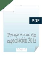 Programa de Capacitación Ofimática